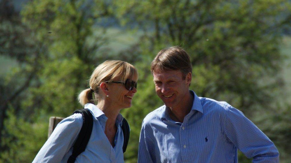 Doris und Raymond Walk