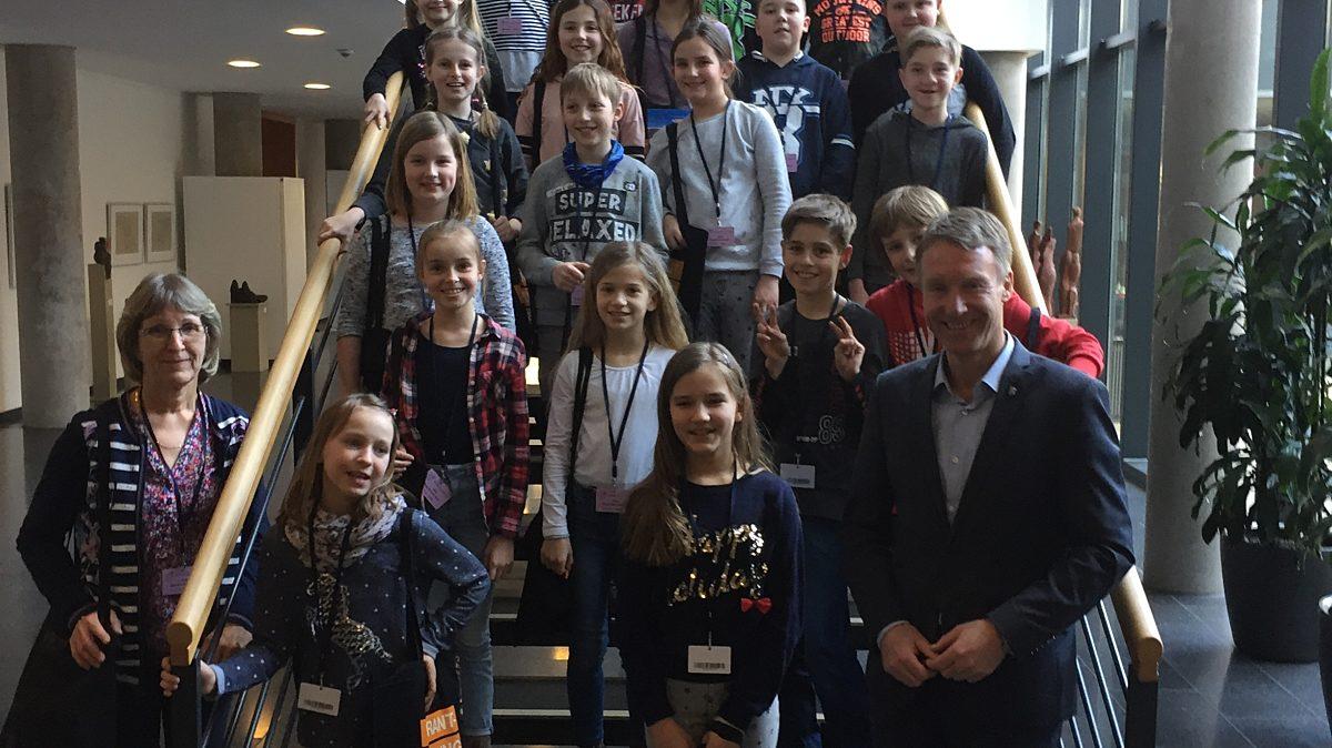 Dippacher Grundschuler Im Landtag