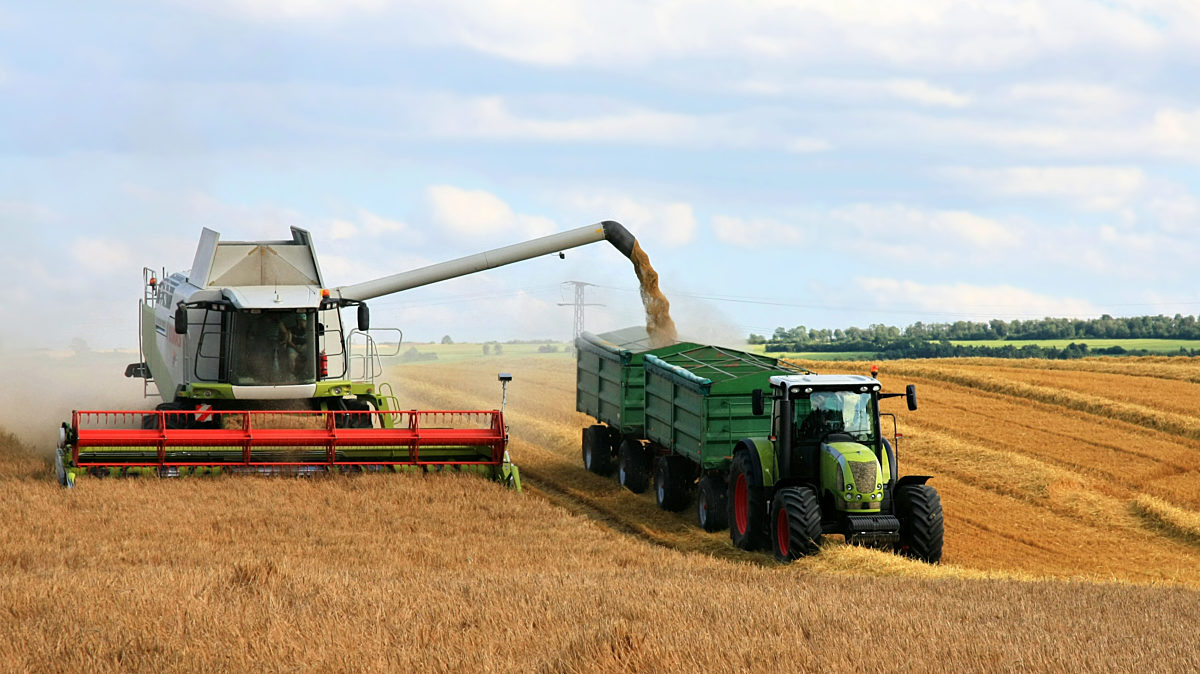 Leistungsfähige Landwirtschaft