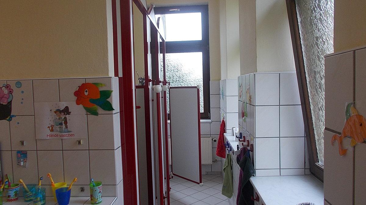 Blick In Waschraum