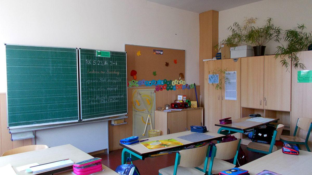 Leeres Klassenzimmer 2